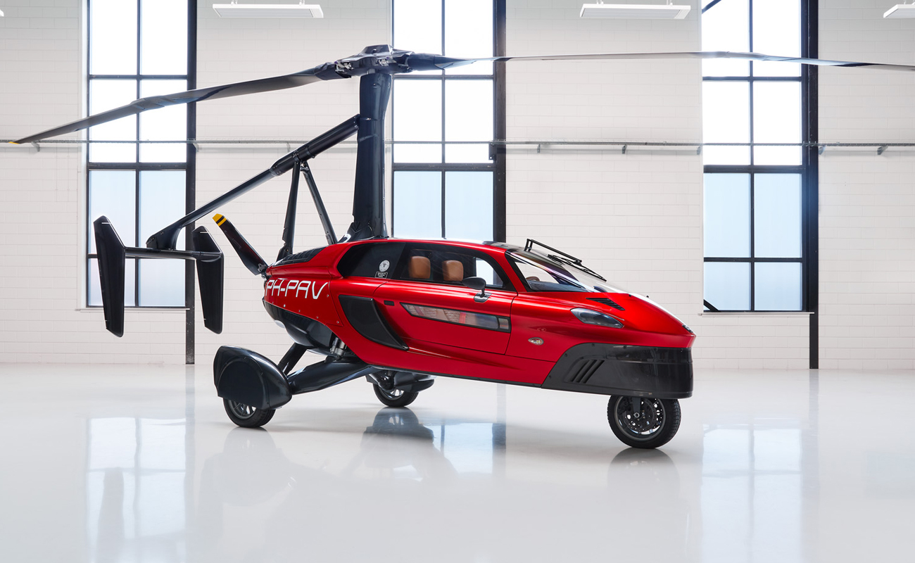 tempus news - the world's first flying car is debuting at